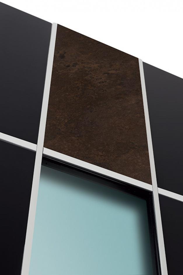 porte d 39 entr e aluminium surface varialu menuiserie. Black Bedroom Furniture Sets. Home Design Ideas