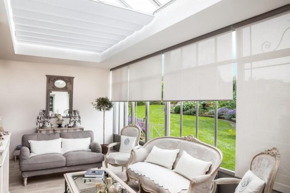 Les toiles de protection solaire REFLEX'SOL pour la véranda - Varialu menuiserie
